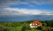 Příjezd od Javorníku